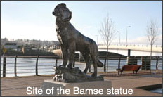 site of bamse statue
